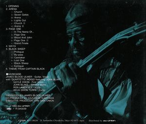 James Blood Ulmer - Harmolodic Guitar With Strings
