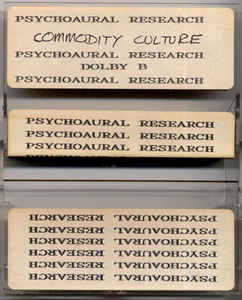 Psychoaural Research - Commodity Culture