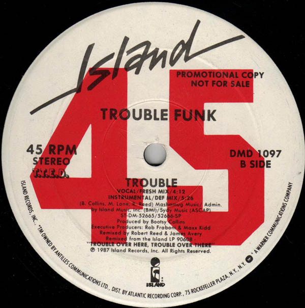 Trouble Funk - Trouble cover of release