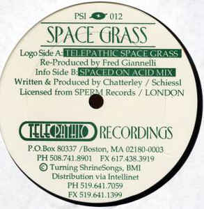 Space Grass - Telepathic Space Grass