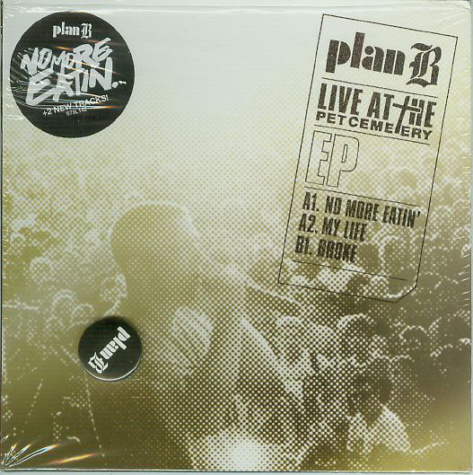 Plan B (4) - Live At The Pet Cemetery EP cover of release