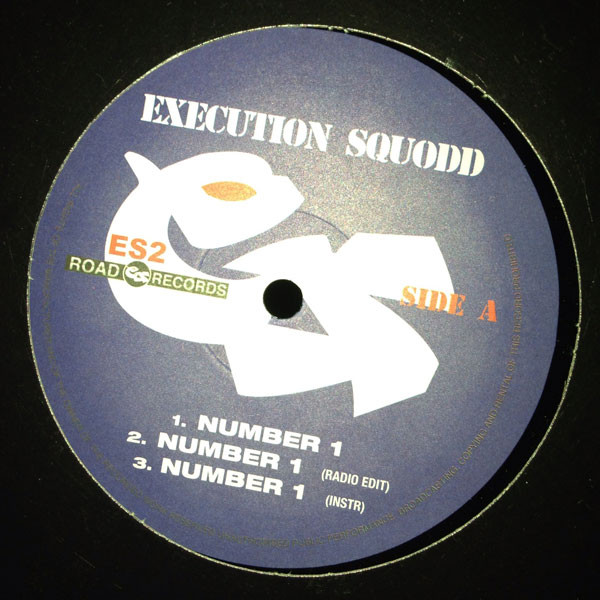 Execution Squodd - Number 1 cover of release