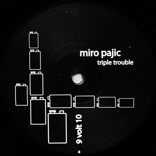 Miro Pajic - Triple Trouble cover of release