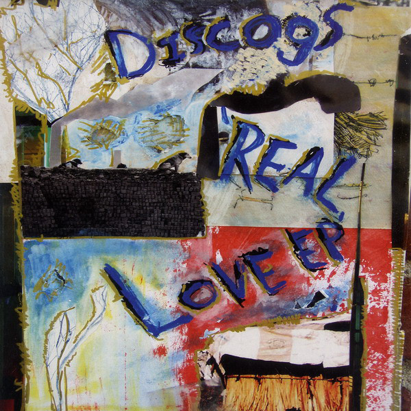 Discogs - Real Love EP cover of release