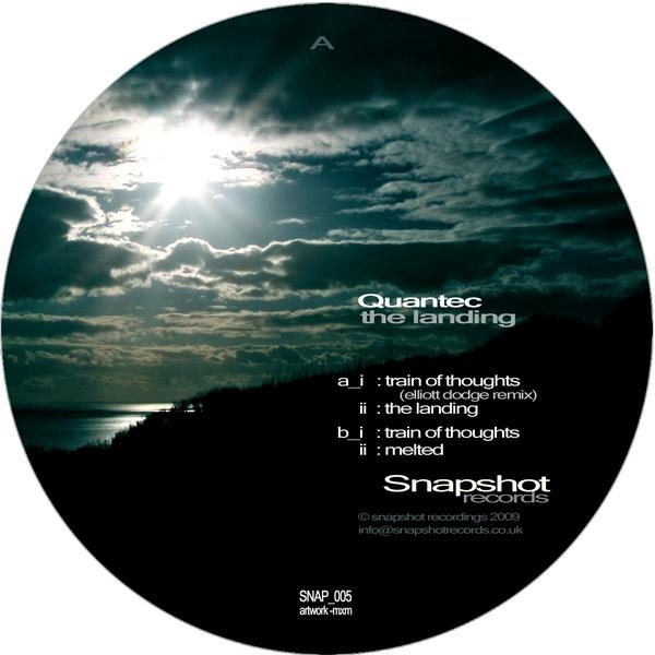 Quantec - The Landing cover of release