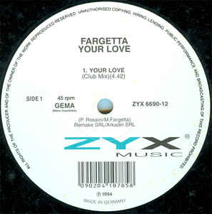 Fargetta - Your Love