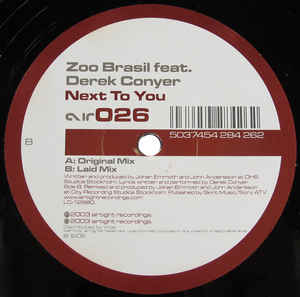 Zoo Brazil - Next To You