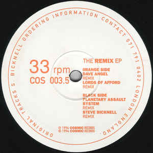 Steve Bicknell - The Remix EP