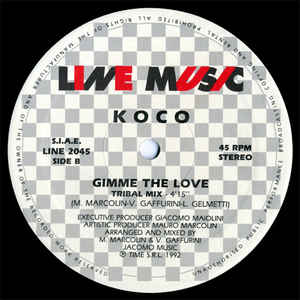 Koco - Gimme The Love