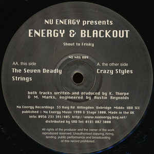 Kevin Energy - Crazy Styles / The Seven Deadly Strings