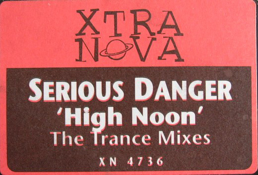Serious Danger - High Noon (The Trance Mixes) cover of release