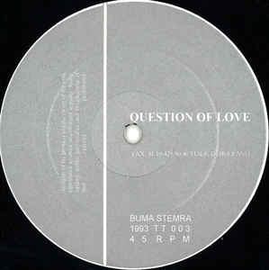 Question Of Love - Question Of Love