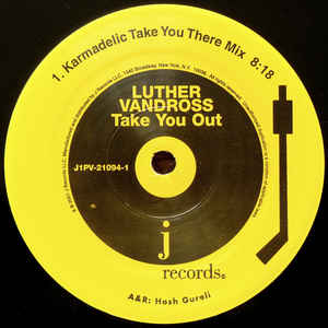 Luther Vandross - Take You Out (Remixes)