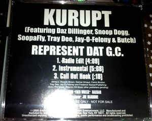 Butch Cassidy - Represent Dat G.C.