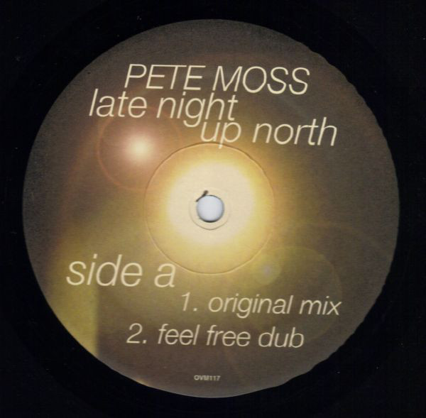Pete Moss - Late Night Up North cover of release