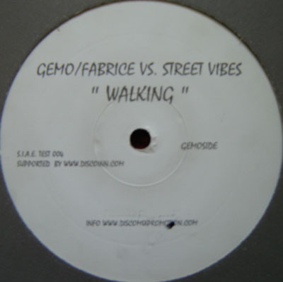 Gemo & Fabrice, Streetvibes - Walking cover of release