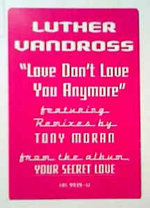 Luther Vandross - Love Don't Love You Anymore