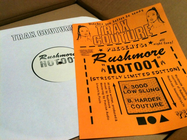 Rushmore (2) - HOT001 cover of release