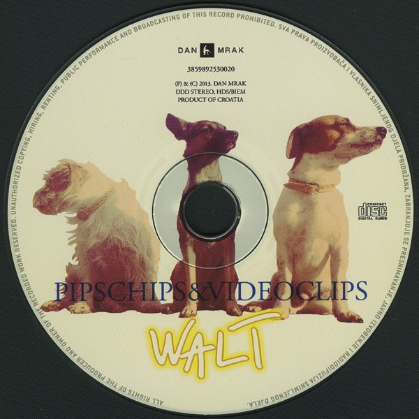 Pips, Chips & Videoclips - Walt cover of release
