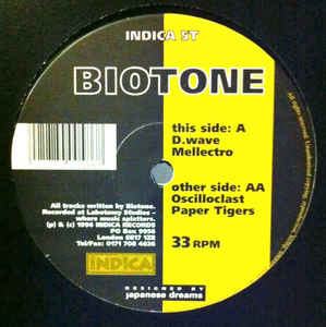 Biotone - D.Wave cover of release