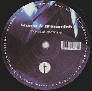 Blome & Grummich - Crystal Avenue / Hungry Bassline cover of release