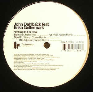 John Dahlbäck - Nothing Is For Real