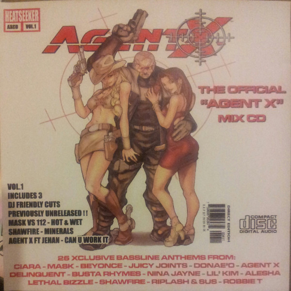 Agent X - The Official Agent X Mix CD Vol.1 cover of release