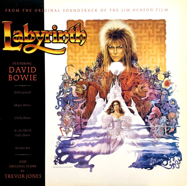 David Bowie, Trevor Jones - Labyrinth (From The Original Soundtrack Of The Jim Henson Film) cover of release