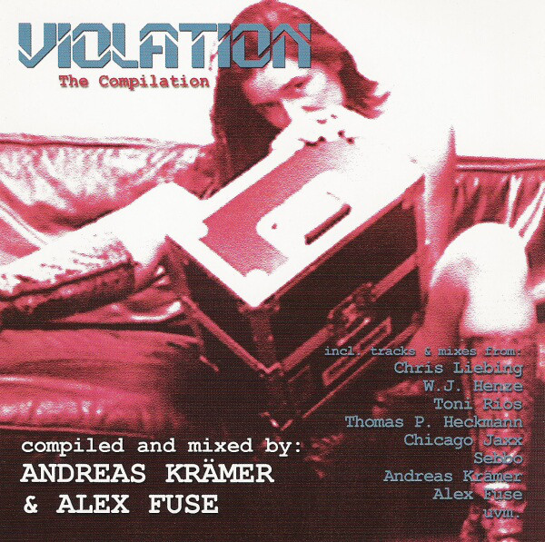 Andreas Krämer, Alex Fuse - Violation - The Compilation cover of release