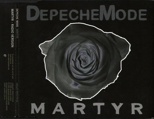 Depeche Mode - Martyr cover of release