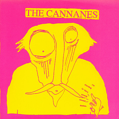 Cannanes, The - Frightening Thing cover of release