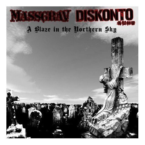 Massgrav, Diskonto - A Blaze In The Northern Sky cover of release