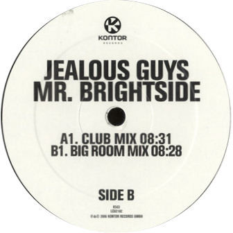 Jealous Guys - Mr. Brightside cover of release