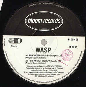 Wasp (3) - Run To The Future
