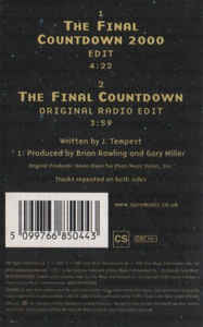 Europe (2) - The Final Countdown 2000