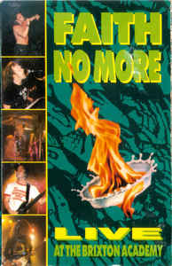 Faith No More - Live At The Brixton Academy cover of release