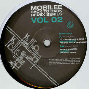 Anja Schneider - Mobilee Back To Back Remix Series Vol 02