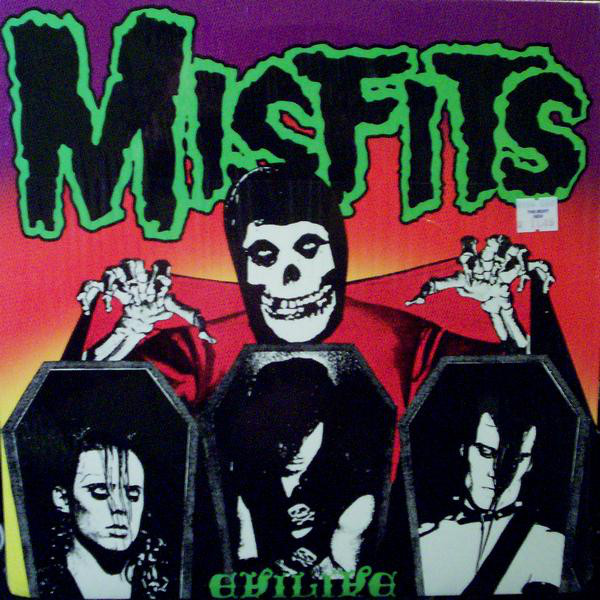 Misfits - Evilive cover of release