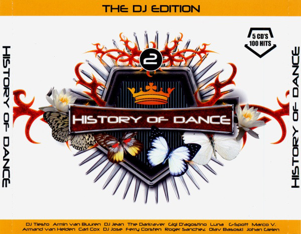Various - History Of Dance - 2 - The DJ Edition cover of release
