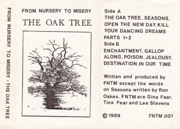 From Nursery To Misery - The Oak Tree cover of release