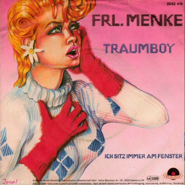 Frl. Menke - Traumboy cover of release