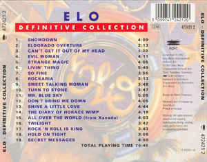 Electric Light Orchestra - Definitive Collection