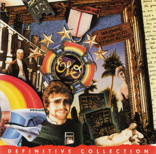Electric Light Orchestra - Definitive Collection cover of release