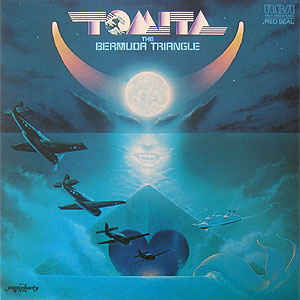 Tomita - The Bermuda Triangle cover of release