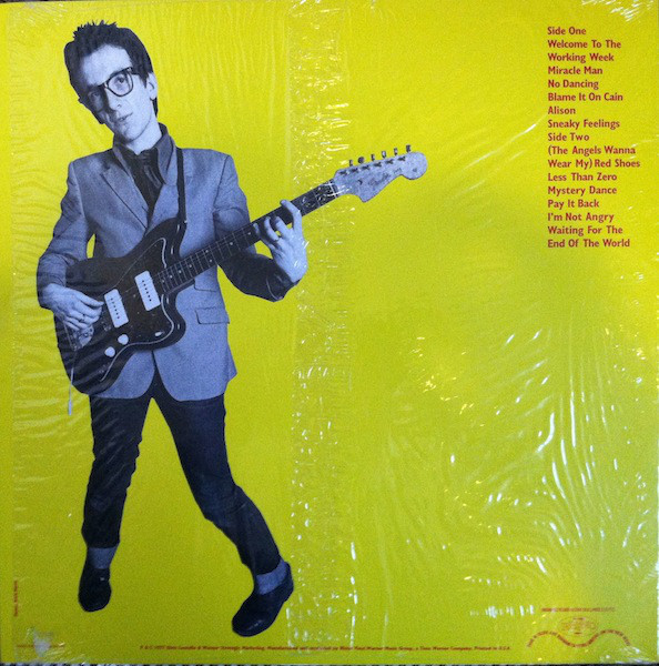 Elvis Costello - My Aim Is True cover of release