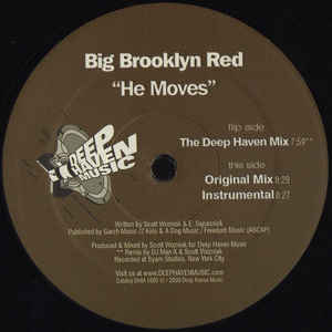 Big Brooklyn Red - He Moves