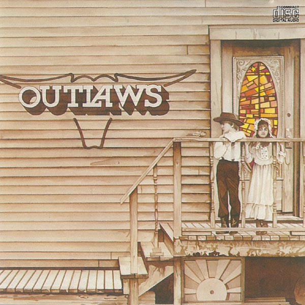 Outlaws - Outlaws cover of release