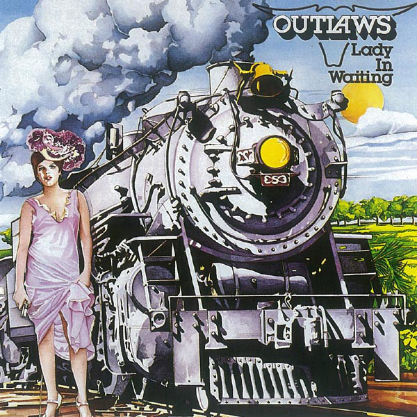 Outlaws - Lady In Waiting cover of release