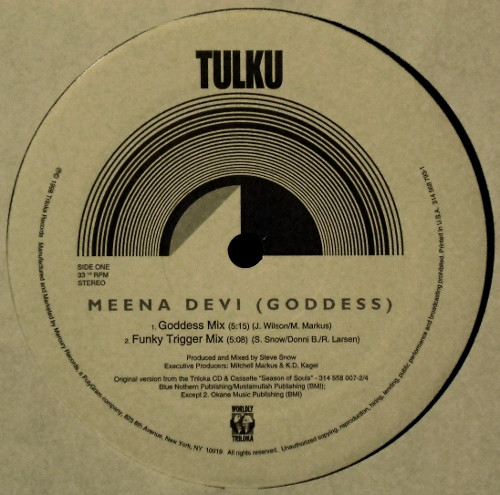 Tulku - Meena Devi (Goddess) cover of release