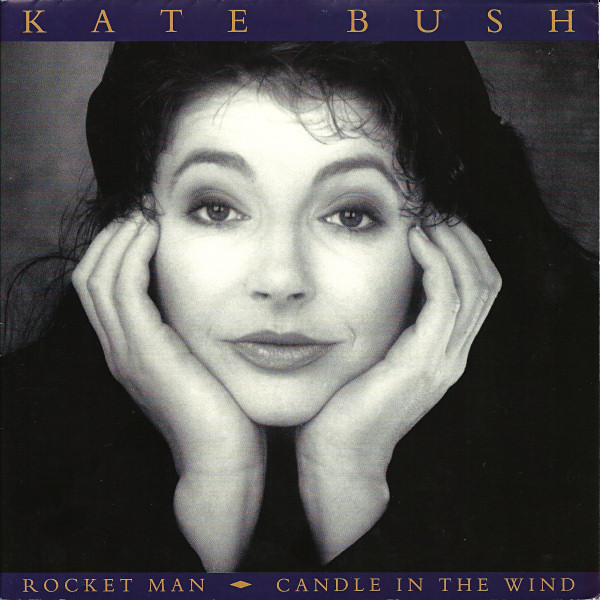 Kate Bush - Rocket Man / Candle In The Wind cover of release